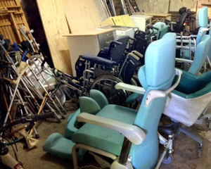 Wheel chairs and more